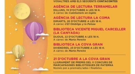 Paterna celebra el Día de las Bibliotecas con cuentacuentos que promueven la lectura entre el público infantil
