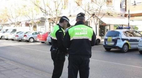La Policía Local de Aldaia multa a un vecino por saltarse la cuarentena del COVID