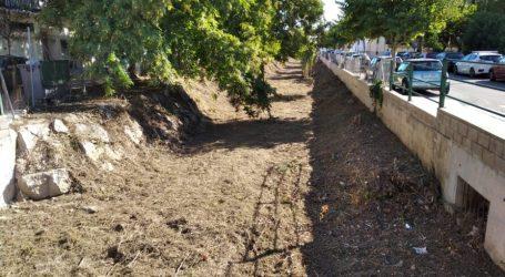 Godella neteja l'últim tram del Barranc dels Frares