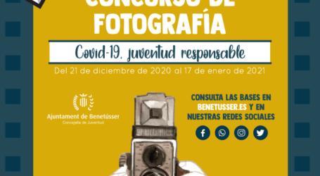 La juventud de Benetússer mostrará su cara más responsable en un concurso fotográfico sobre el Covid-19
