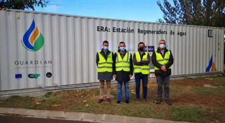 GUARDIAN pone en marcha la Estación Regeneradora de Agua que permitirá su reutilización para la prevención de incendios forestales