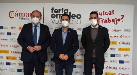 Nueva edición de la Feria de Empleo de Cámara Valencia en Paterna