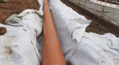 Paterna mejora el drenaje urbano de Fuente del Jarro para evitar inundaciones en el túnel que conecta las dos fases del polígono