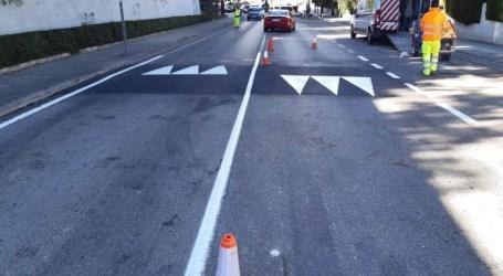 Paterna ejecuta nuevas obras de asfaltado y pavimentación en La Canyada