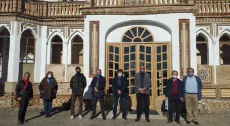 La direcció de Global Omnium visita el palauet de Nolla