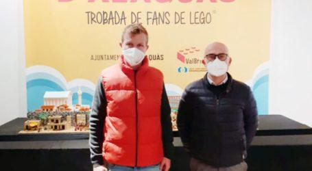 El Castell d'Alaquàs acull la trobada de Fans de Lego amb major quantitat de peces