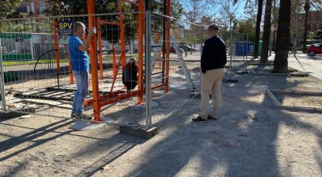 Massamagrell concluye las obras de instalación de dos parques de calistenia