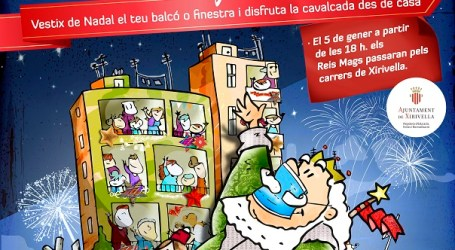 Xirivella llama a las niñas y niños del municipio a participar en una cabalgata de Reyes alternativa y adaptada a la pandemia