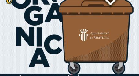Xirivella implanta el contenedor marrón para residuos orgánicos