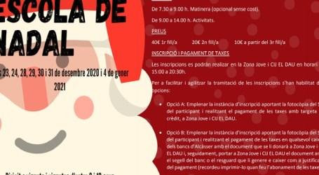 Alcàsser posa en marxa una nova edició de l'Escola de Nadal