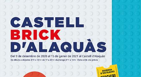 El Castell d'Alaquàs rep una exposició de Lego