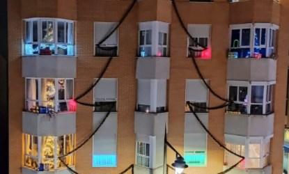 El árbol de Navidad que causa expectación en Xirivella