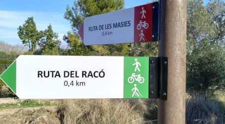 Manises estrena dues rutes verdes