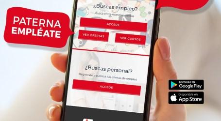 Paterna lanza una app para impulsar el empleo