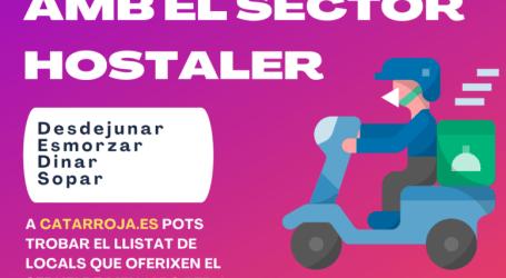 Catarroja llança una campanya per a donar suport a l'hostaleria local