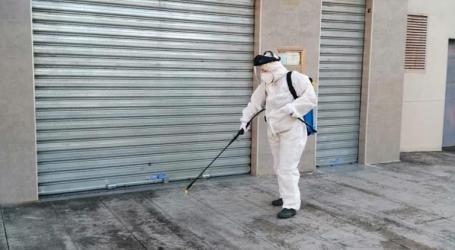 Paterna intensifica y refuerza aún más la limpieza y desinfección en todos los barrios