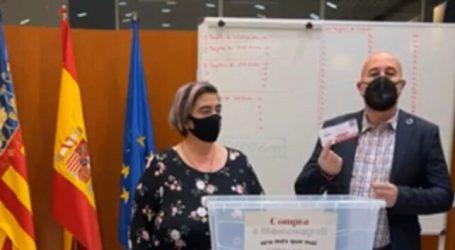 Massamagrell sortea 10.000 euros entre la gente que compra en los comercios del pueblo