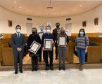 Paterna entrega los Premios Literarios Villa de Paterna en la LVI edición de los Jocs Florals