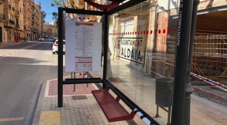 Aldaia renueva las paradas de bus con más información y accesibilidad