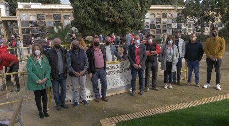 Comienzan las excavaciones en la explanada del cementerio de Paterna para hallar víctimas de la Guerra Civil