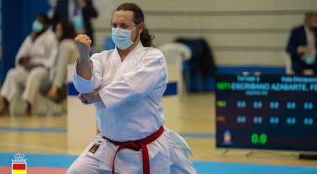 Félix Escribano del Club Karate de Sedaví, subcampió d'Espanya de Para-kàrate