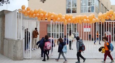 Inici de les classes al col·legi públic Ciutat de Cremona d'Alaquàs