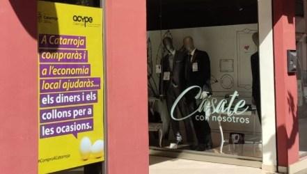 """""""Els diners i els collons per a les ocasions"""", la llamativa campaña de Catarroja para comprar en la población"""