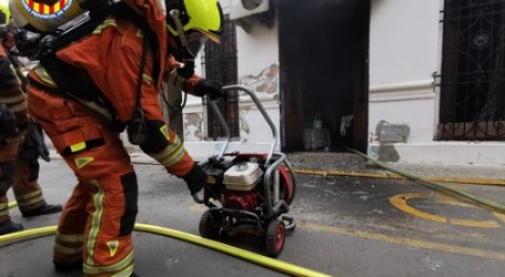 Incendio en una vivienda de Massanassa