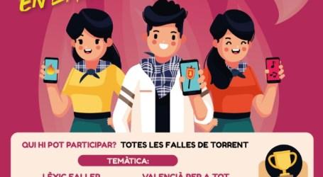Torrent presenta un concurs de TikTok per a las comissions falleres de la ciutat