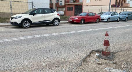 El Grupo Municipal Socialista de Massanassa solicita una actuación urgente en el pavimento de la Calle Favara