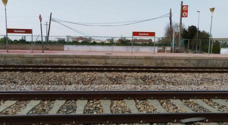 Adif inicia las obras del ancho estándar en la estación de Massalfassar