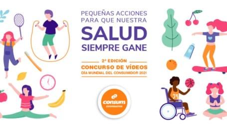 El CEIP Antonio Machado de Xirivella, uno de los colegios ganadores del concurso de Consum con motivo del Día Mundial del Consumidor