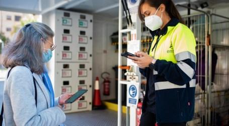 La aplicación EMTRE para móviles ayuda a reciclar y permitirá obtener bonificaciones en la tasa TAMER