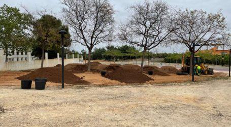 El ayuntamiento de Torrent mejora las zonas verdes y recreativas de El Vedat