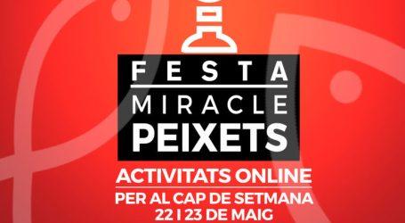 Alboraya propone actividades culturales online para celebrar la Festa del Miracle dels Peixets
