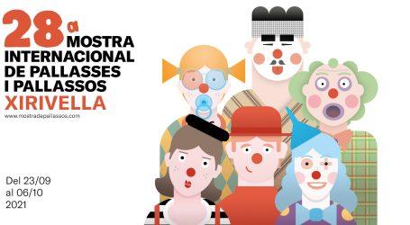 La Mostra Internacional de Pallases i Pallasos de Xirivella se celebrará en septiembre