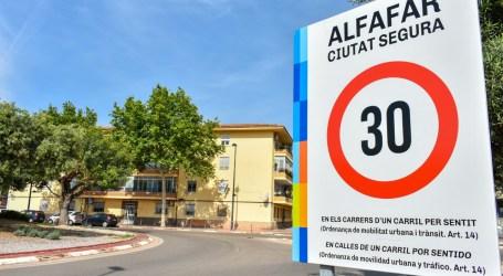 """Alfafar implanta la limitación a 30km/h bajo el lema """"Ciudad Segura"""""""