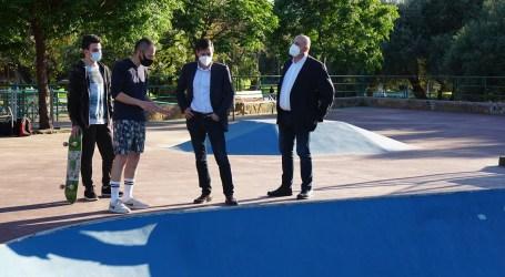 Burjassot finaliza las obras de la pista de skate del Parque de La Granja