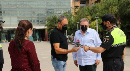 La Policía Local de Torrent estrena un nuevo dron
