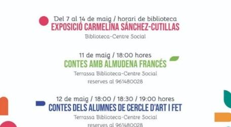 La cultura inunda Foios amb la Setmana del Llibre 2021