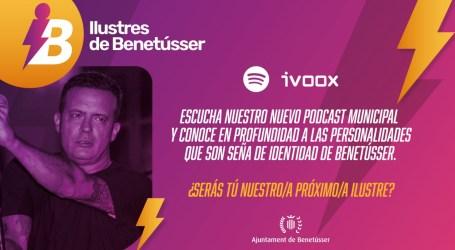 José Manuel Casañ protagoniza el estreno del podcast 'Ilustres de Benetússer'