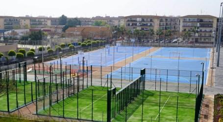 Benetússer estrena sus pistas de pádel con reservas gratuitas para los vecinos