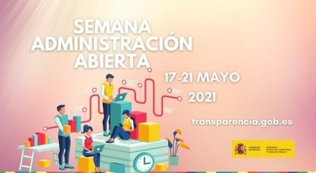 El Ayuntamiento de Rafelbunyol se suma a la Semana de la Administración Abierta
