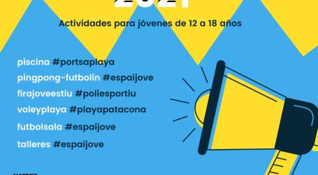 La Concejalía de Juventud de Alboraya presenta las actividades de «Juliol Jove 2021»