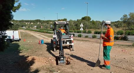 Paterna lucha contra el vertido de escombros y residuos ilegales en diferentes zonas del término municipal