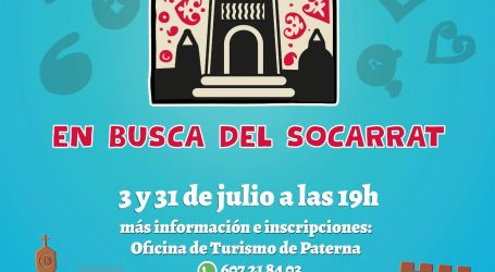 Paterna pone en marcha «En busca del Socarrat» un Escape City Tourist