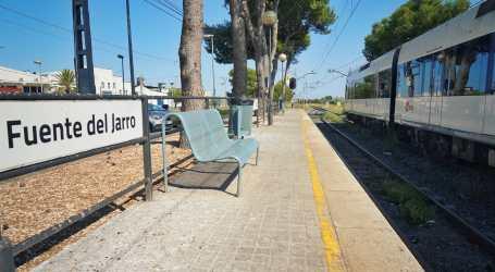 La Generalitat finaliza los proyectos de la nueva parada y duplicación de vía en Fuente del Jarro y el punto de cruce de La Vallesa de Metrovalencia