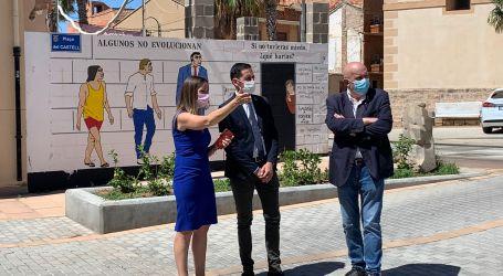 Bielsa visita las obras financiadas por la Diputació en l'Horta Nord