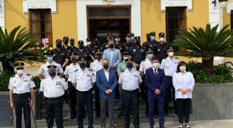 Godella i Burjassot celebren el lliurament del Bastó de comandament al cap de la Dependència de la Policia Nacional dels dos municipis