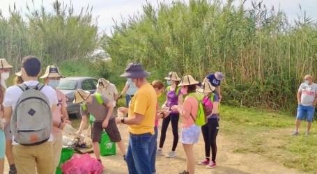 Planeta Massanassa realiza actividades medioambientales en la Albufera